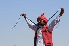 Desert Festival in Rajastan Royalty Free Stock Image
