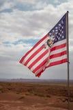 Desert Flag Stock Photo