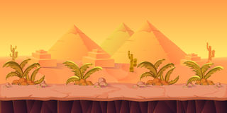Desert Game Background Stock Photos