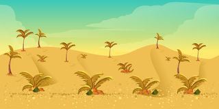 Desert Game Background Royalty Free Stock Images