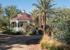 Desert Gazebo Stock Photo