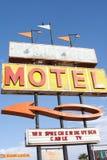 Desert Gem Motel Sign Stock Image