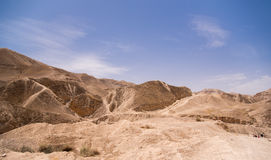 Desert geologic Stock Photo