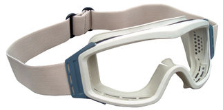 Desert Goggles. Detail shot of protective military desert goggles Royalty Free Stock Photo