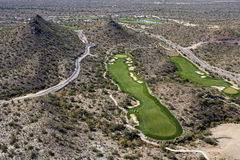 Desert Golf Royalty Free Stock Images