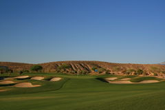 Desert golf Stock Photography
