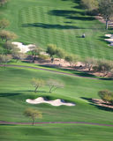 Desert Golf Course Royalty Free Stock Photography