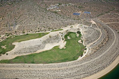 Desert Golf Course Stock Image