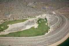 Desert Golf Course Stock Image