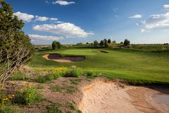 Desert Golf Course Stock Photos