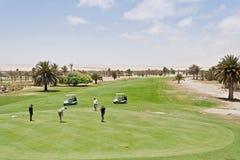 Desert Golf Course Swakopmund Stock Photo
