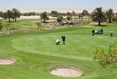 Desert Golf Course Swakopmund Royalty Free Stock Photography