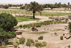 Desert Golf Course Swakopmund Stock Image