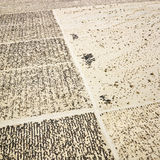 Desert with grid pattern. Royalty Free Stock Photos