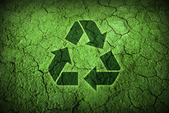 Desert ground recycle Royalty Free Stock Photo
