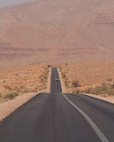 Desert high way Stock Photo