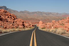 Desert Highway Stock Image