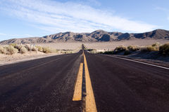 Desert highway Stock Images