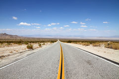 Desert Highway Stock Photos
