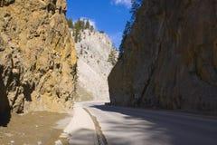 Desert highway Royalty Free Stock Photo