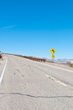 A desert highway Royalty Free Stock Photo