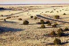Desert Highway Stock Images
