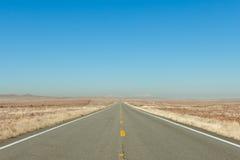 Desert highway Stock Photography