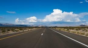 Desert Highway blur Stock Image