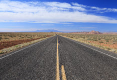 Desert highway Stock Photography