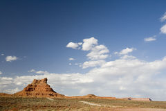 Desert Hill-01. A hill in Valley of the Gods, Utah royalty free stock photos