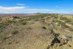 Desert hill Stock Image