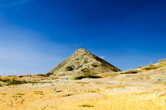 Desert and Hill Stock Images