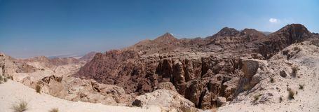 Desert Hills At Midday Royalty Free Stock Images