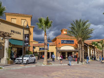 Desert Hills Premium Outlet Mall Stock Photography