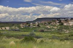 Desert homes in New Mexico Stock Image