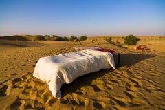 Desert hotel Stock Photos