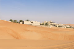 Desert Hotel, Abu Dhabi Stock Image