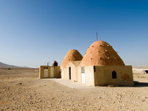 Desert houses Royalty Free Stock Image