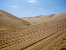 Desert of Huacachina, Peru Royalty Free Stock Image