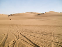 Desert of Ica stock photo