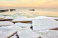 Desert of ice Stock Photo