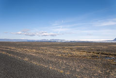 Desert in Iceland Royalty Free Stock Photography