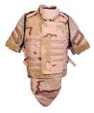 Desert interceptor body armour Stock Photo