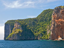 Desert island. Tropical desert island in Andaman sea. Thailand, Krabi province stock images