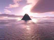 Desert Island Royalty Free Stock Photo