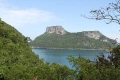 Desert island Stock Image