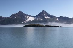 Desert island, Alaska Royalty Free Stock Photo