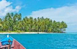 Desert island, Banyak Archipelago Stock Photography