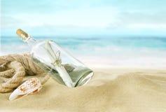 Desert island Stock Photography