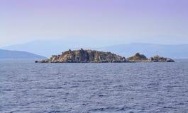 Desert island Stock Photo
